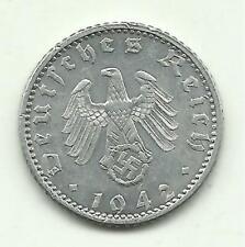 50 Reichspfennig 1942 A in vz Erhaltung!
