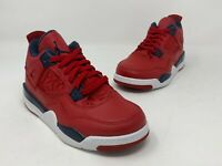 "Jordan Retro 4 ""FIBA"" Gym Red/Obsidian-White (PS) (BQ7669 617) Size 11.5c"