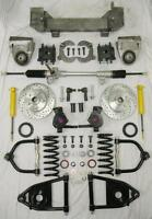 """1949 - 1954 Chevy Car Mustang II Bolt On Manual Front End Suspension Kit 2"""" Drop"""