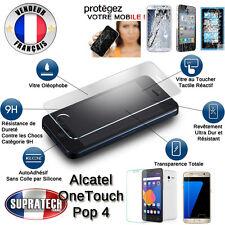 Protection Ecran en Verre Trempé Contre les Chocs pour Alcatel One Touch Pop 4