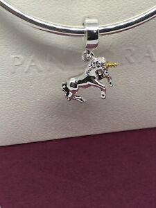 Pandora Pop Up Box With Beautiful Unicorn Dangle Charm