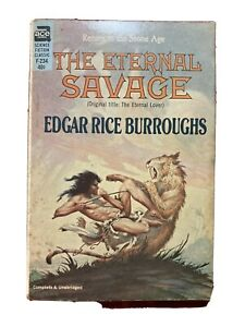 The Eternal Savage By Edgar Rice Burroughs First Ace Edition F-234