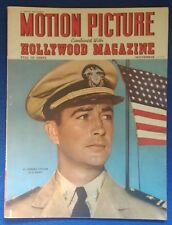 Motion Picture Hollywood Magazine Lt ROBERT TAYLOR U.S. Navy cover November 1943