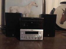 Yamaha RX E810 Pianocraft Musik HiFi Anlage mit DVD Player und Boxen