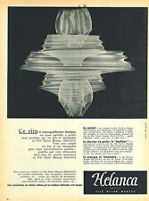 PUBLICITE ADVERTISING 124  1954  HELANCA   slip sous vetements