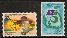 Islas Cocos (Tokelau) es. sg82/3 1982 Scouts Mnh