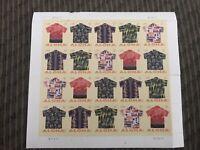 2011 Aloha Shirts Sheet of 20 Scott #4592-4596 Mint NH