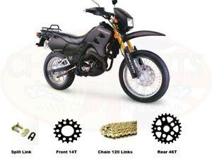Zongshen ZS200 GY-2 Zipstar GOLD Heavy Duty Chain and Sprocket Kit