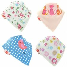 Cotton Zippy Baby Dribbles/Bandana Bibs Cloths