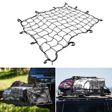 Car Roof Top Rack Mesh Barrier Cover Luggage Carrier Cargo Basket Net With Hooks