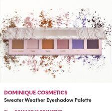 Dominique Cosmetics Eyeshadow Palette In Sweater Weather 6 MATTE SHADES BrandNew