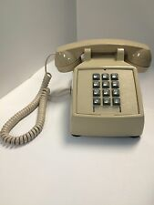 Cortelco 250044-MBA-20M Single Line Desk Telephone ASH With Volume Control