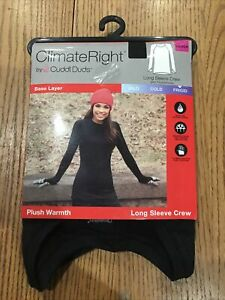 ClimateRight by Cuddl Duds Women's Warmth Long Underwear SIZE XS