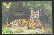 MALAYSIA 2014 ENDANGERED BIG CATS OF MALAYSIA (2013 MALAYA TIGER) O/P 4 NATIONS
