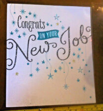 Congrats On Your New Job Card New No Envelope