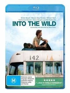 Into The Wild (Blu-ray, 2009), NEW SEALED AUSTRALIAN RELEASE