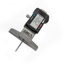 0-30mm Digital Depth Gauge in acciaio inox del battistrada dei pneumatici di 12 mesi garanzia
