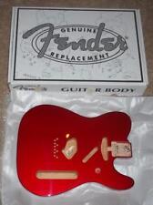 Fender® MIM Tele Candy Apple Red Alder Body~Vintage Bridge~0998006709~Brand New