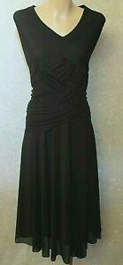 PHILOSOPHY Black DRESS Sz 16