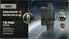 NEW*Bushnell Equinox Z Digital Night Vision Monocular-4.5x40mm-Zoom-Photos-Video