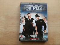 HOT FUZZ 2 DISC SPECIAL EDITION DVD UK EDITION REGION 2 COMEDY FILM MOVIE