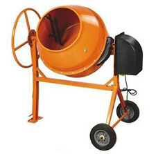 Mixer Concrete Cement Mixer Electric 8.83 cu ft 1.3/8 hp motor W/TRI STAND