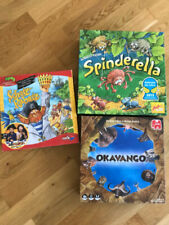 tolle Kinderspiele / Gesellschaftsspiele Spinderella, Okavango, Schatz Rabatz