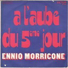 """ENNIO MORRICONE """"A L'AUBE DU 5eme JOUR"""" B.O. FILM 70'S SP RCA 41094"""