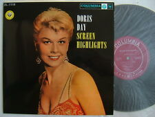 DORIS DAY SCREEN HIGHLIGHTS / NM MINT- SUPERB COPY 10INCH FLIP BACK COVER