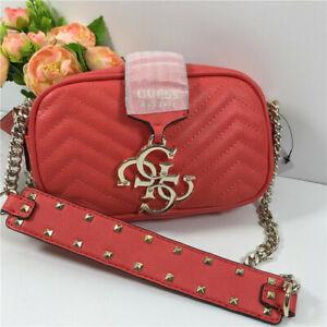 Quilted Shoulder Bag Womens Bag Rivet Shoulder Strap Gata Croc-Embossed Handbag
