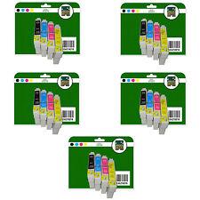 20 Cartucce Di Inchiostro Per Epson s21 sx100 sx105 sx110 sx115 non originali e711-4