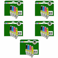 20 Cartuchos de tinta para Epson S21 SX100 SX105 SX110 SX115 no Original E711-4