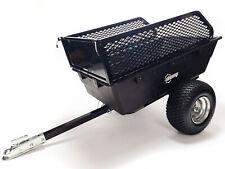 More details for stomp atv quad tipping trailer 15 cubic ft 680kg hauling   garden   farm   field