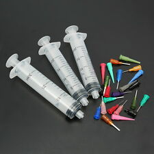 26PCS Syringe SMT SMD PCB Solder Paste Adhesive Glue Liquid Dispenser EFD