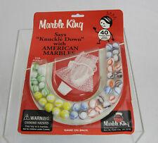 Vintage Marble King Marbles - Paden City WV - Sealed Blister Pack - 1970s?