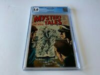 MYSTERY TALES 38 CGC 5.0 BILL EVERETT ICE MAN COVER ATLAS COMICS 1956