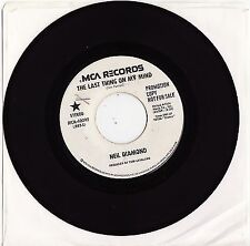 NEIL DIAMOND - THE LAST THING ON MY MIND Megarare 1973 US PROMO Single Release!
