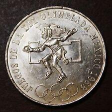 Mexico 1968 25 pesos silver Olympic coin