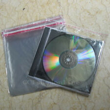 Lot of 100 OPP Plastic Bag CD Box Jewel Case Wrap bags