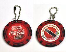 Coca-Cola catena chiave dal Giappone Key Chain FIFA MONDO TAZZA 2006 Trinidad