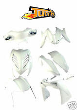 Kit carénage TUN'R 8 coque MBK Nitro YAMAHA Aerox Blanc