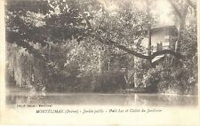 CPA 11 - MONTELIMAR - Jardin Public - Petit lac et Châlet du Jardinier