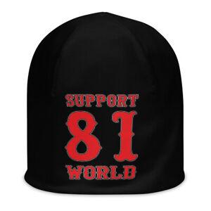01 Hells Angels Support81 Big Red machine Beanie