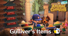 Gulliver's Items + Rusted Parts Animal Crossing