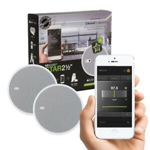 "KB Sound Select Star FM Radio & Bluetooth  2.5"" Ceiling Speaker System"