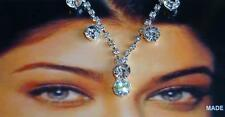 New Hair Head Piece Crystal Rhinestone Chain Jewelry Indian Tikka Wedding Prom
