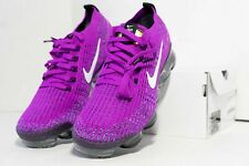 Nike Women's Air VaporMax Flyknit 3 Vivid Purple White Black AJ6910-502