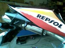 Honda CBR1000RR 2006 2007 Fireblade Stainless Oval Road Legal MTC Exhaust