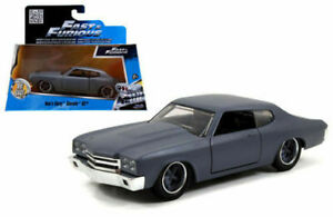 JADA 1/32 METAL FAST & FURIOUS DOM'S CHEVY CHEVELLE SS 97379