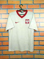 Poland Jersey 2009 2010 Home SMALL Shirt Nike Football Soccer Trikot Maglia